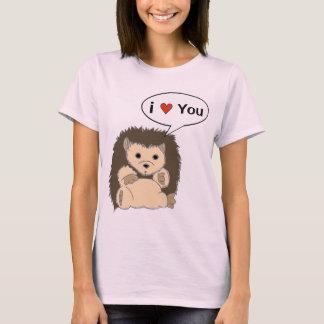 As camisas cómicas do ouriço personalizam a bolha