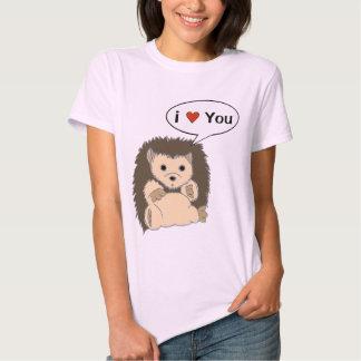 As camisas cómicas do ouriço personalizam a bolha tshirts