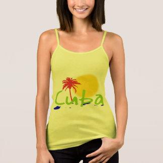 as camisas do tropix de Cuba e suam