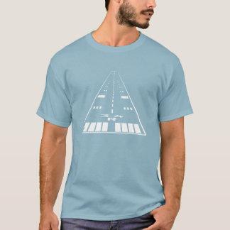 As camisetas do aviador adequado da pista de