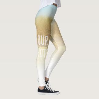 As caneleiras desvanecem-se ao modelo branco da legging