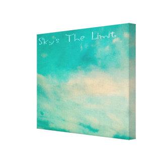 As canvas do limite do céu de Tha