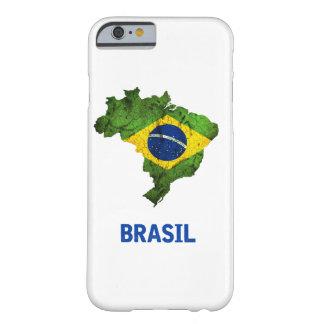 As capas de iphone da bandeira de Brasil