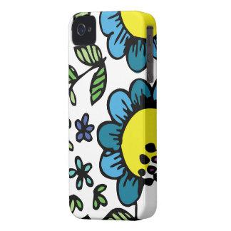 As capas de iphone florais florescem o design