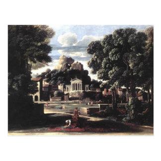 As cinzas de Nicolas Poussin- de Phocion Cartão Postal