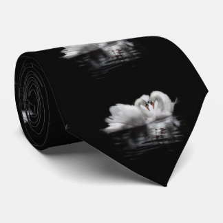 As cisnes dos namorados gravata