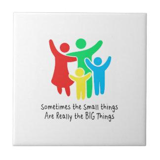 As coisas pequenas são realmente as coisas grandes