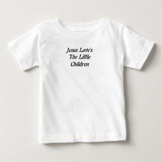 As crianças pequenas do amor de Jesus Camisetas