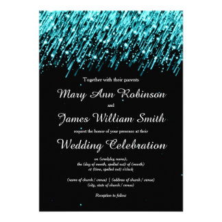 As economias elegantes do casamento a data Stars a Convite Personalizados