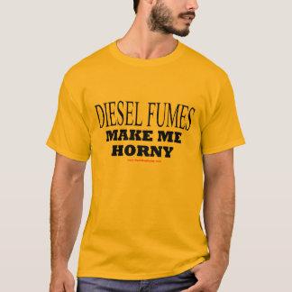 As EMANAÇÕES DIESEL FAZEM-ME HORNY - t-shirt Camiseta