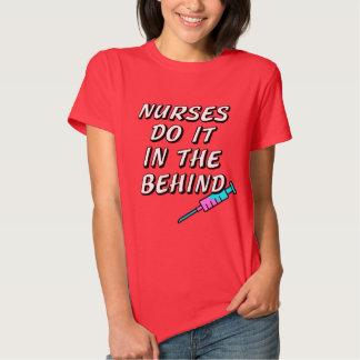 As enfermeiras fazem-no no de trás tshirt