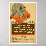 As escolas federais livram WPA 1938 Impressão