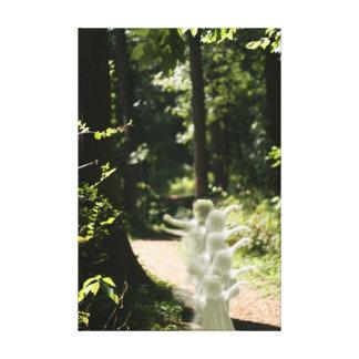 As fadas da floresta Enchanted canvas da floresta Impressão De Canvas Esticadas