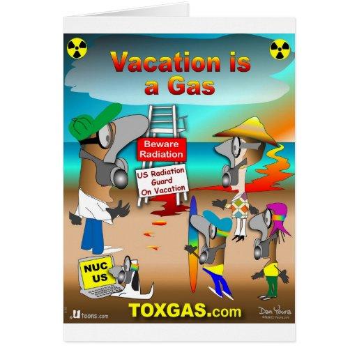 As férias são um gás cartão