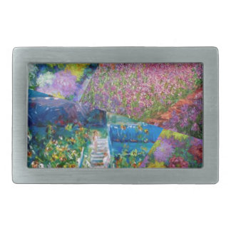 As flores no jardim de Monet são originais