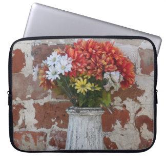 As flores Sleeve sem nome Capas Para Laptop