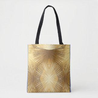 As folhas de palmeira abstraem o bolsa da bolsa de