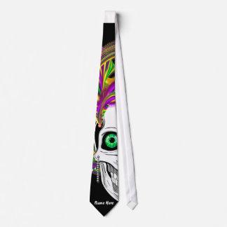 As gravatas selvagens e loucas do carnaval vêem