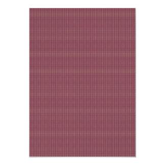 As hastes roxas minúsculas antigas atrativas convite 12.7 x 17.78cm