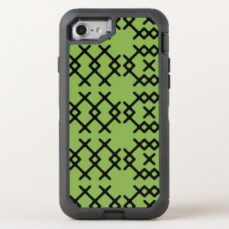 As hortaliças tribais esverdeiam formas capa para iPhone 7 OtterBox defender