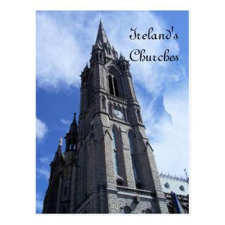 As igrejas de Ireland Cartão Postal