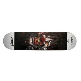 as imagens (1), o que são assim, engraçado? shape de skate 18,7cm