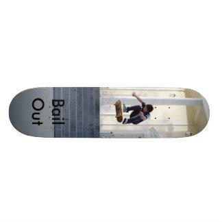 as imagens skateboarding, afiançam para fora shape de skate 18,7cm