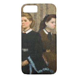As irmãs de Bellelli por Edgar Degas Capa iPhone 7