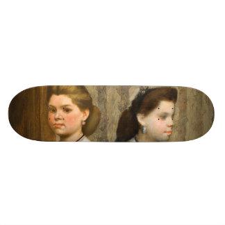 As irmãs de Bellelli por Edgar Degas Skateboard