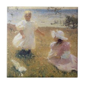 As irmãs, por Frank W. Benson