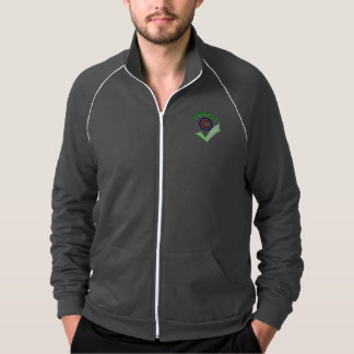 As jaquetas dos homens do treinador