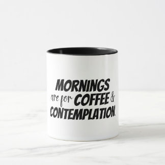 As manhãs são para o café e a caneca do projecto