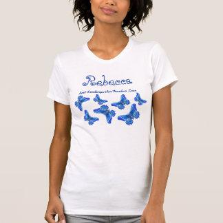 As melhores borboletas prées-escolar V18 do rosa d T-shirts