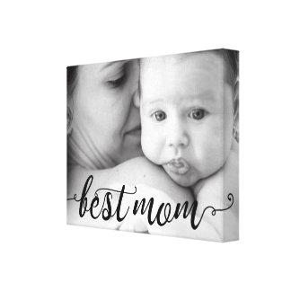 As melhores canvas do modelo da foto da mamã