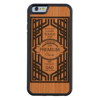 As melhores capas de iphone da madeira do pai