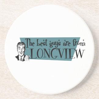 As melhores caras são de Longview WA Porta Copos De Arenito
