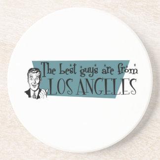 As melhores caras são de Los Angeles Porta Copos De Arenito