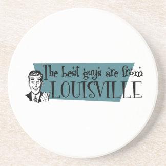 As melhores caras são de Louisville Porta Copos De Arenito