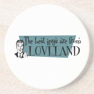 As melhores caras são de Loveland Porta Copos De Arenito