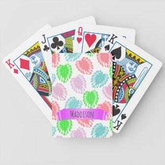 As meninas adolescentes das mulheres jogo de carta