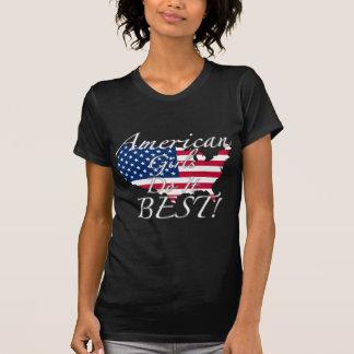 As meninas americanas fazem-no melhor! t-shirt