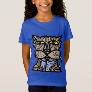 "As meninas ""curiosas"" multam o t-shirt do jérsei camiseta"