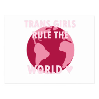 As meninas do transporte ordenam o mundo (v2) cartão postal