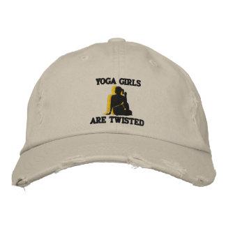 As meninas engraçadas da ioga são torcidas bordara bone