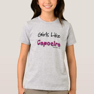 As meninas gostam do t-shirt de Capoeira Camiseta