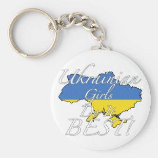 As meninas ucranianas fazem-no melhor! chaveiro
