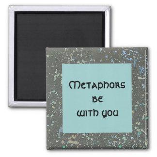 as metáfora sejam com você. ímã quadrado do céu no