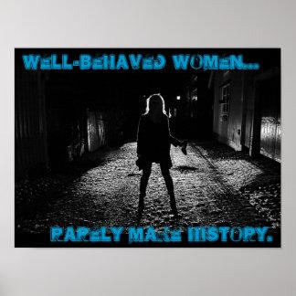 as mulheres bem comportadas fazem raramente a hist posteres