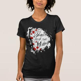 As mulheres bem comportadas fazem raramente a t-shirt