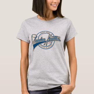 As mulheres de ESDK short a camisa do basebol da